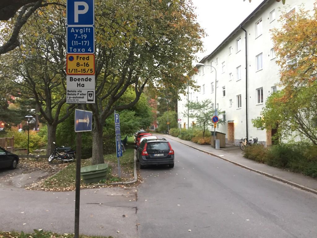 Parkeringsavgifter